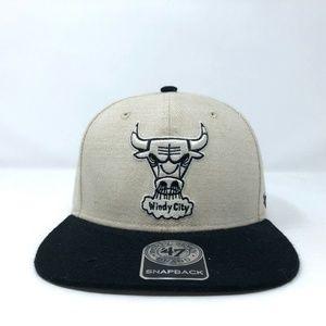 Chicago Bulls '47 Brand Snapback Hat Windy City